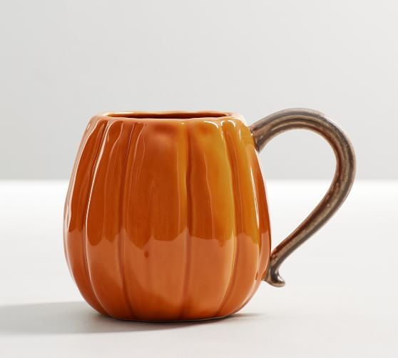 Pumpkin Shaped Mug
