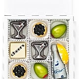 Maggie Louise Confections Cocktails & Caviar 9-Piece Chocolate Set