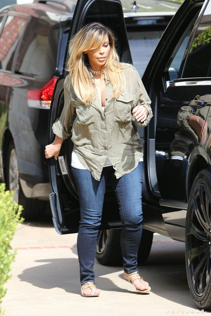 Kim Kardashian Has Gone Blond!
