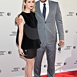 James Franco and Emma Roberts premiered Palo Alto.