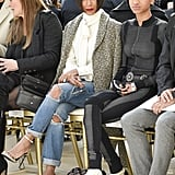 Jada Pinkett Smith and Willow Sat Front Row