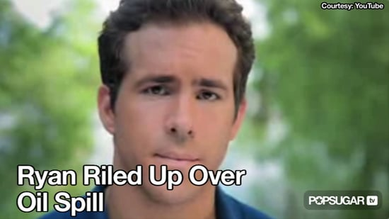 Video of Ryan Reynolds in a Public Service Announcement