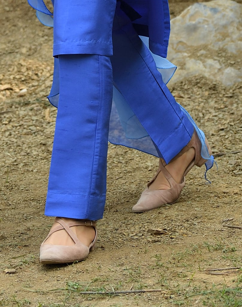 Kate Middleton Wearing Russell & Bromley Flats in Pakistan
