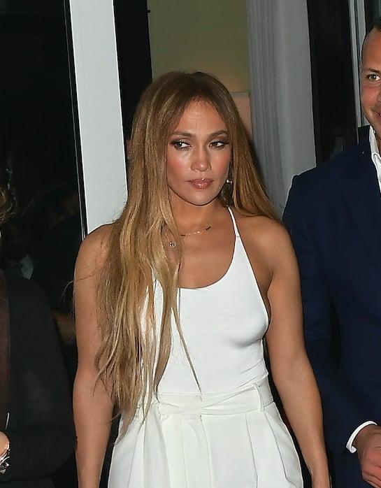 Jennifer Lopez With Blond Hair July 2017 Popsugar Beauty