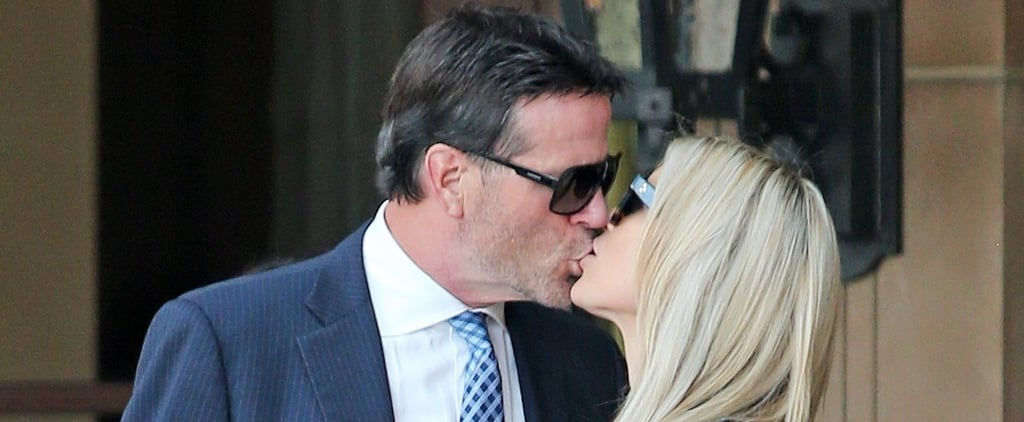 Christina El Moussa Celebrates Her Birthday by Planting a Steamy Kiss on Her New Man