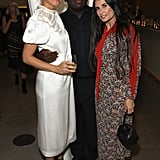 Pictured: Gwyneth Paltrow, Edward Enninful, and Demi Moore