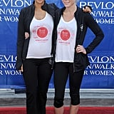 Halle Berry teamed up with Julie Bowen for the event.