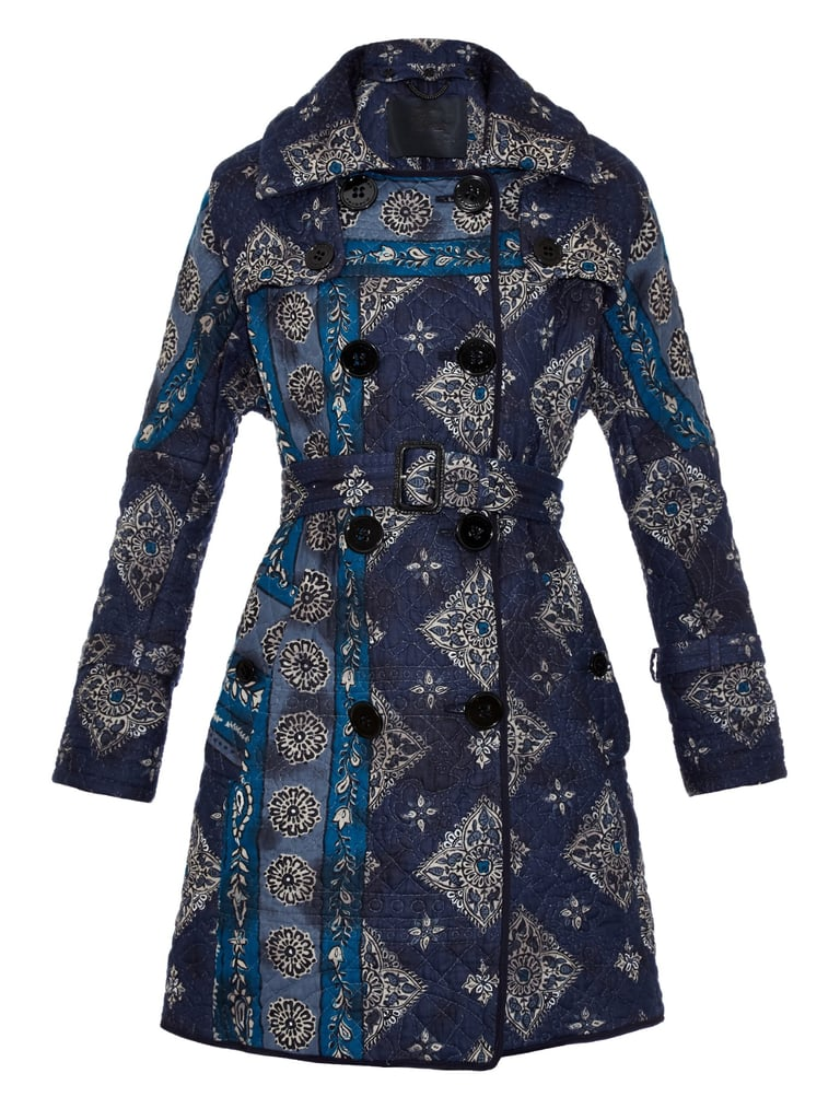 Burberry Prorsum Paisley-Print Quilted Trench Coat ($3,838)