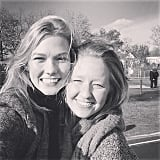 Karlie Kloss met up with a longtime friend for the holiday.
