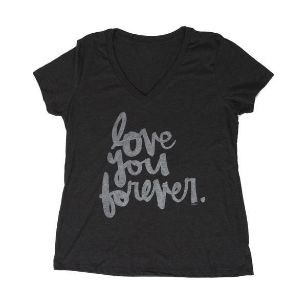 Love You Forever Women's V-neck Tee