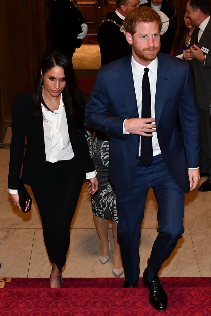 Meghan Markle's Black Alexander McQueen Suit