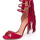 Alexa Wagner Suede Fringe Sandals ($825)