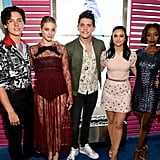 Cole Sprouse, Lili Reinhart, Casey Cott, Camila Mendes, and Ashleigh Murray