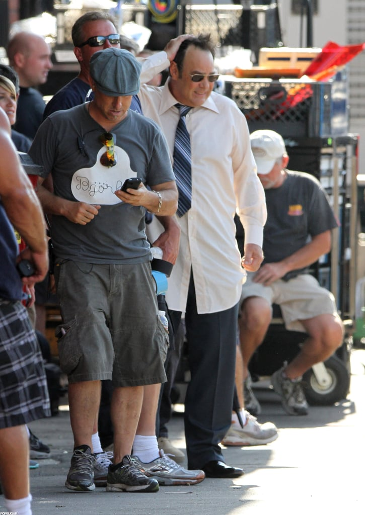 Dan Aykroyd filmed new scenes for Behind the Candelabra in LA.