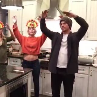 Julianne and Derek Hough Thanksgiving Dance Videos