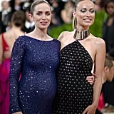 Pictured: Olivia Wilde and Emily Blunt