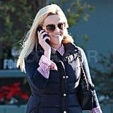 Reese Witherspoon in a puffy vest.