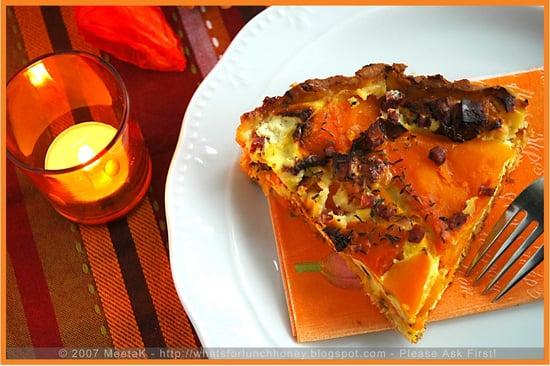Yummy Link: Pumpkin Feta Tart