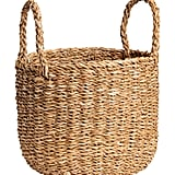 Braided Storage Basket ($18)