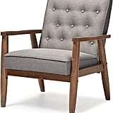 Baxton Studio Sorrento Mid-Century Lounge Chair