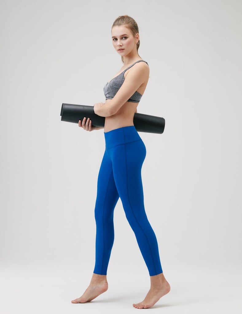 Tesla Yoga Pants Mid-Waist Leggings