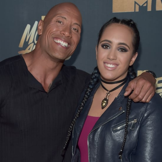 Dwayne Johnson at the MTV Movie Awards 2016