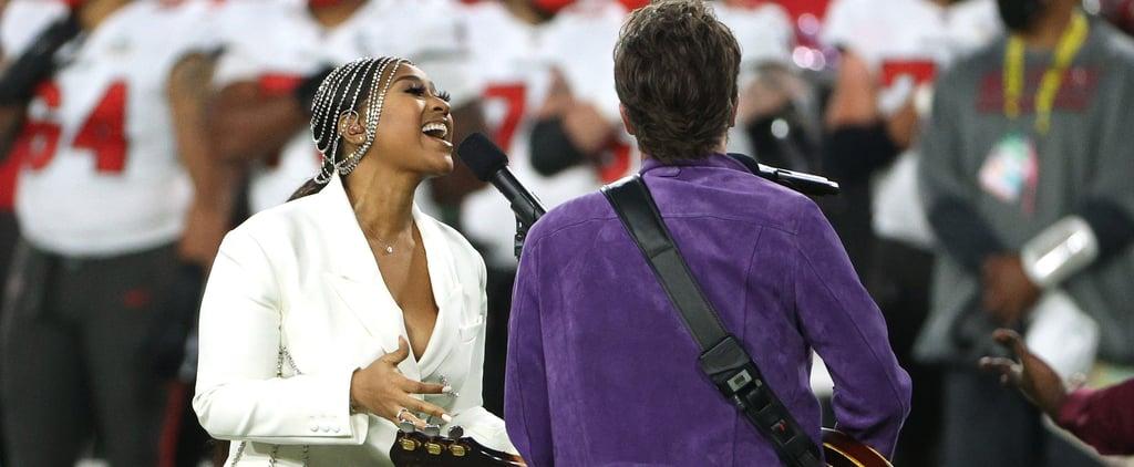Jazmine Sullivan's Super Bowl Outfit Honors Whitney Houston