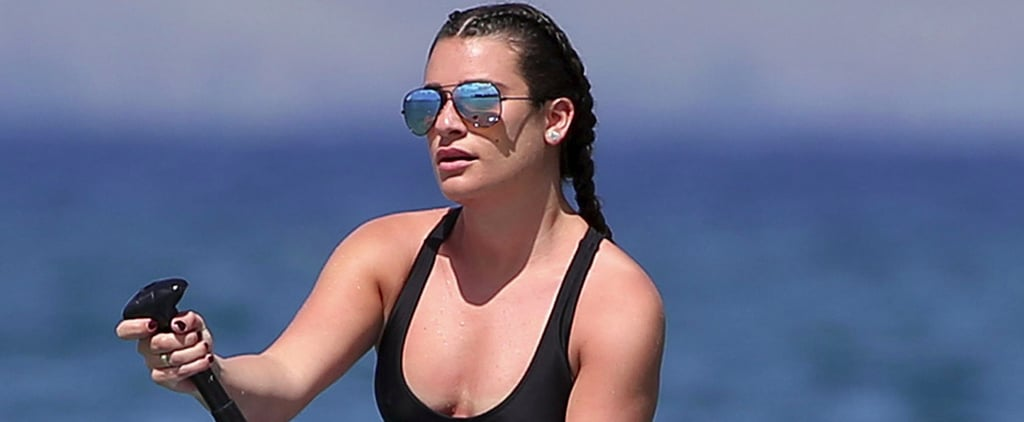 If You Need a Vacation, These Lea Michele Beach Pictures Might Upset You a Little