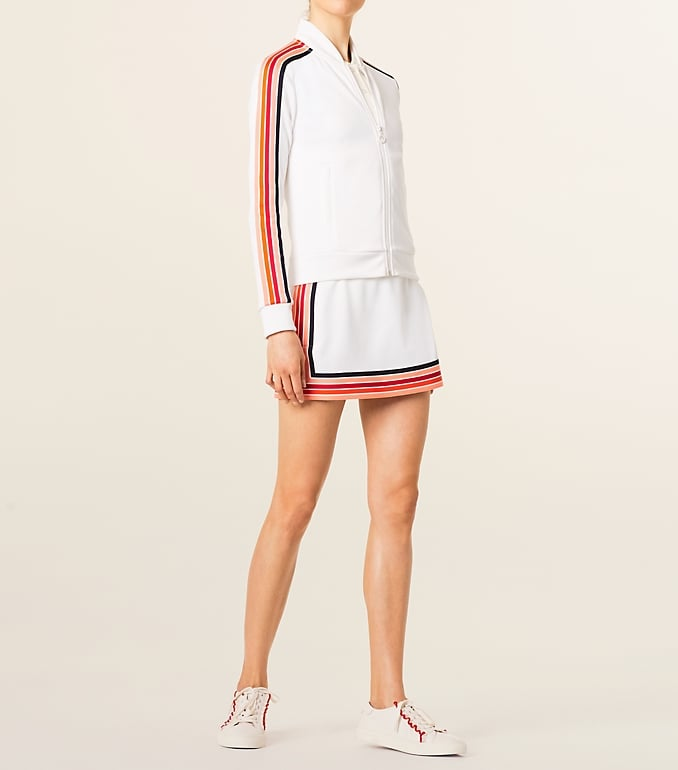 Tory Sport Prism Striped Performance Jacket and Skirt