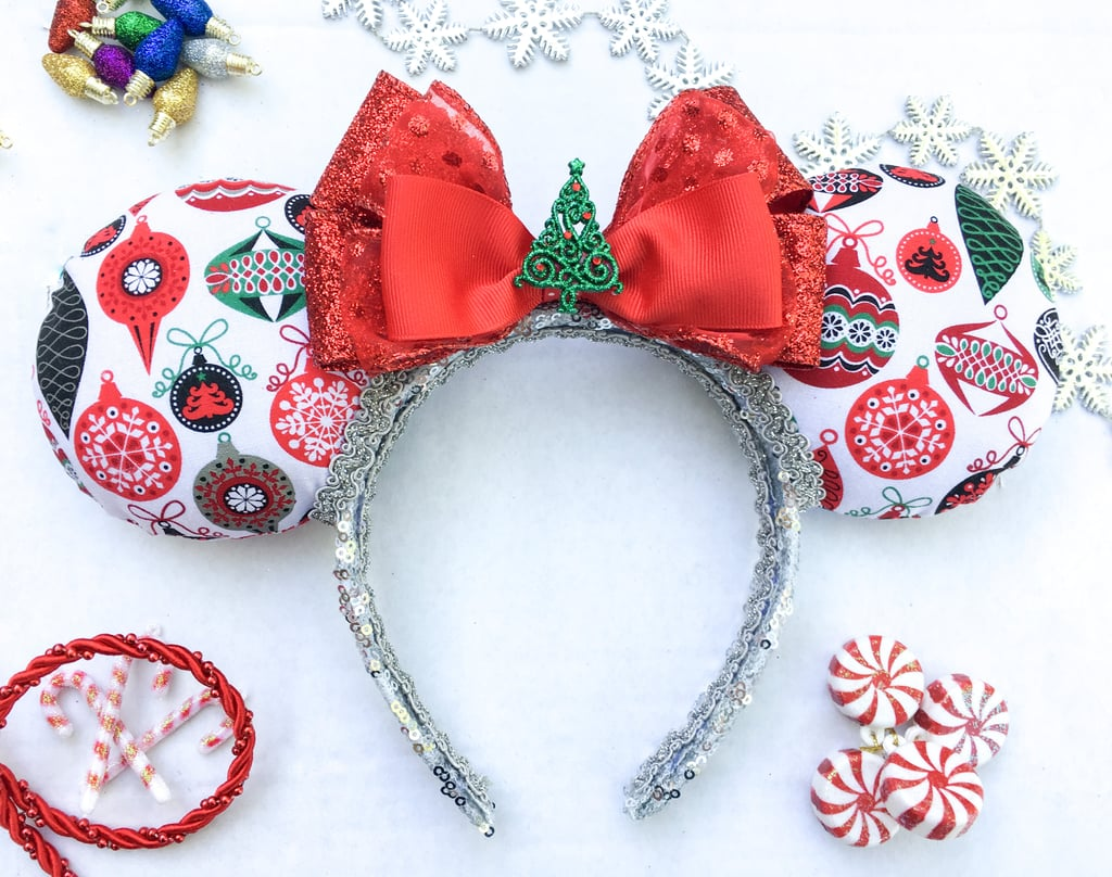 classic christmas ornament mouse ears