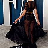 Karolina Kurkova at the Vanity Fair Oscars Afterparty 2020
