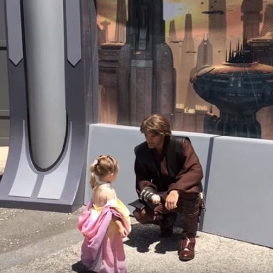 Anakin and Little Girl as Padme Reunited Star Wars Video