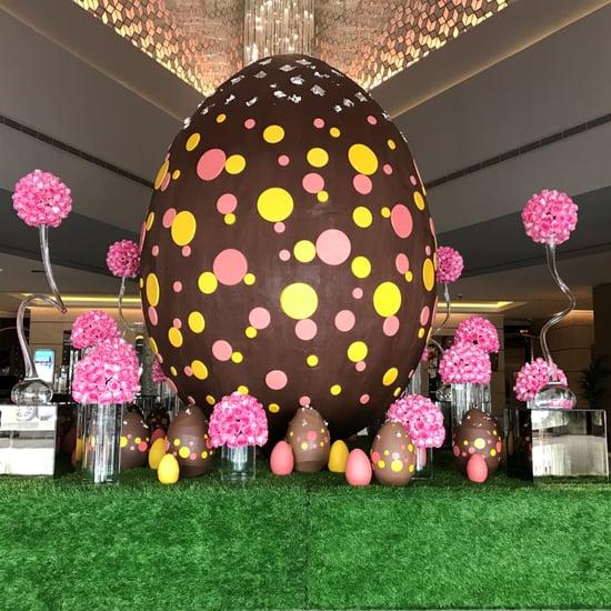 Fairmont Dubai Chocolate Easter Egg Has 436,000 Calories