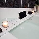 Wood Bathtub Tray ($40)