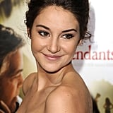 Shailene Woodley at the premiere of The Descendants in LA.