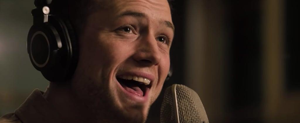 Taron Egerton Singing in Rocketman Video