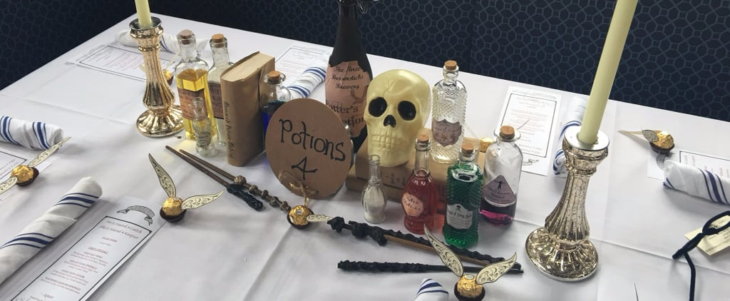 Harry Potter-Themed Bridal Shower
