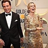 Pictured: John Travolta and Sarah Paulson