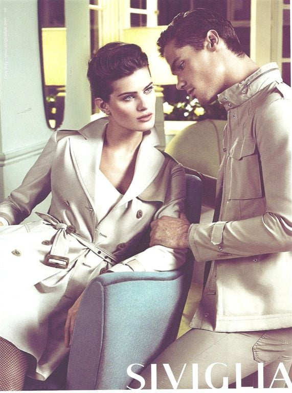 Sleek, classic trenches are showcased in Sivigilia's Spring campaign. Source: Fashion Gone Rogue