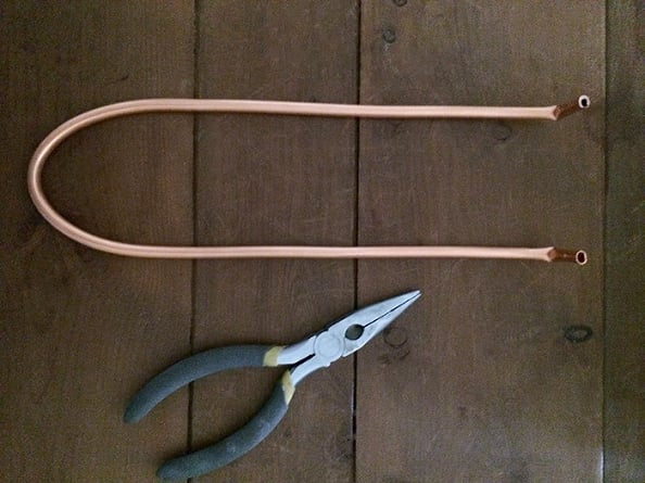 DIY Hairpin Style Legs {without welding}