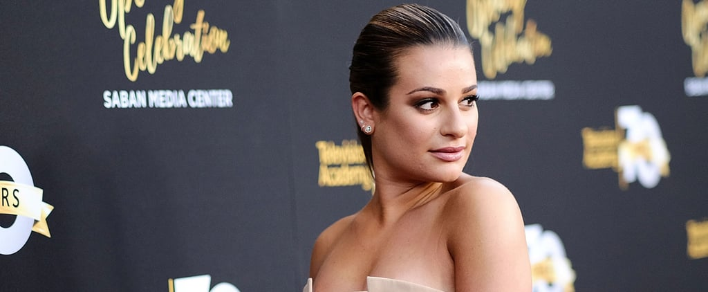Lea Michele Returns to the Red Carpet With a Gorgeous Postvacation Glow