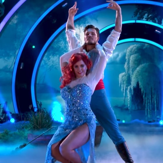 Sasha Pieterse The Little Mermaid on Dancing With the Stars