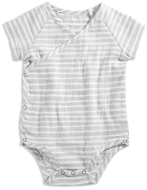Aden And Anais Unisex Striped Muslin Bodysuit Gender Neutral Baby