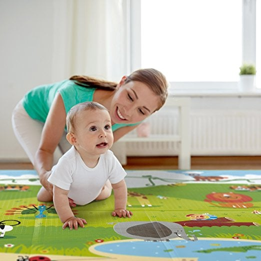 For 1-Year-Olds: Have Baby Folding Play Mat