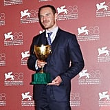 Michael Fassbender took home the Volpi Cup for best actor at the Venice Film Festival.