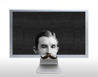 Hilarious Mustache Screen Saver