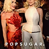 Pictured: Gwen Stefani and Lady GaGa