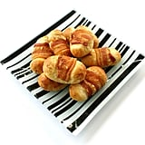 For savory-minded pooches, bacon-and-cheese rolls will satisfy the munchies.