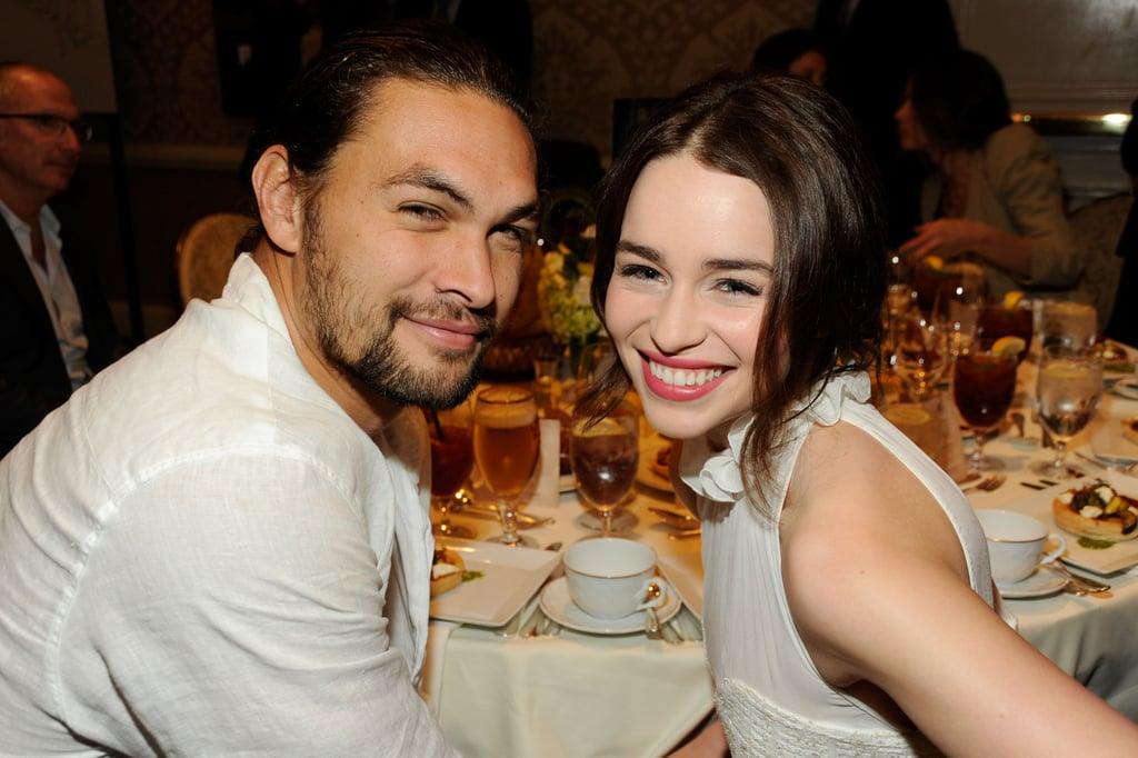 Best Pictures of Jason Momoa and Emilia Clarke