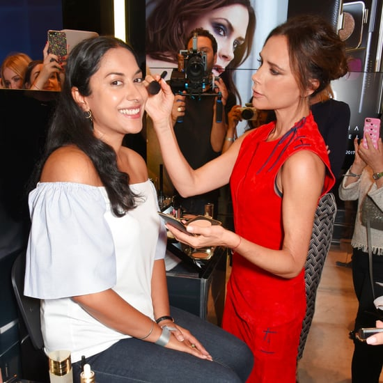 Victoria Beckham Makeup Launch in London in September 2017